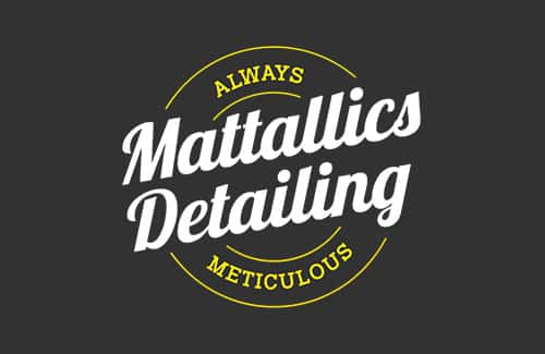 Mattallics Detailing Logo
